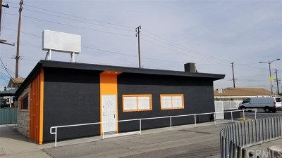 Hawthorne Commercial For Sale: 12022 Inglewood Avenue