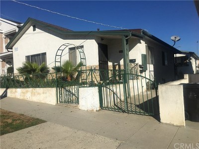 San Pedro Multi Family Home For Sale: 946 W 18th Street