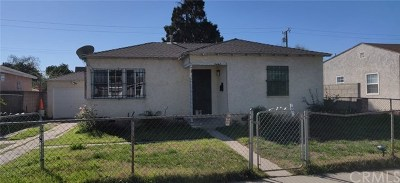 Lynwood Single Family Home Pending: 5442 Pelleur Street