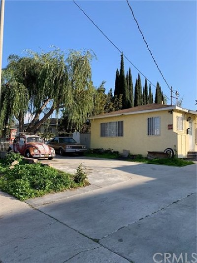 Torrance Multi Family Home For Sale: 1640 W 204th Street
