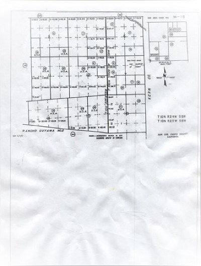 Shandon Residential Lots & Land For Sale: 1 Soda Lake Road