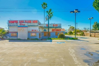 Fontana Commercial For Sale: 13957 Foothill Boulevard