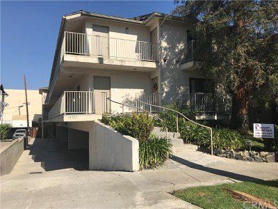 Sherman Oaks Multi Family Home Active Under Contract: 14327 Dickens Street