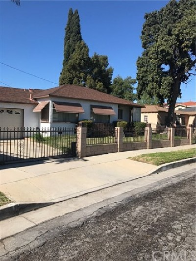Lynwood Single Family Home For Sale: 11749 Thorson Avenue