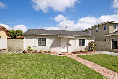 Redondo Beach Single Family Home For Sale: 2507 184th Street