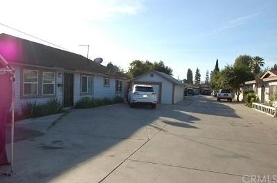 El Monte Multi Family Home For Sale: 11128 Dodson Street