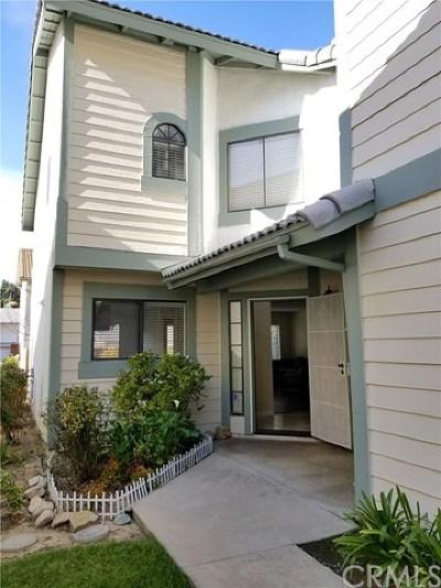 Diamond Bar Condo/Townhouse For Sale: 2005 Shannon Court #1