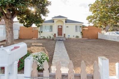 Torrance Single Family Home For Sale: 2803 Alberta Street
