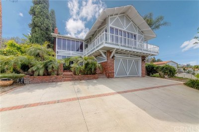 Torrance Single Family Home Active Under Contract: 24660 Via Valmonte