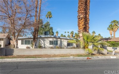 Palm Desert CA Single Family Home For Sale: $210,000