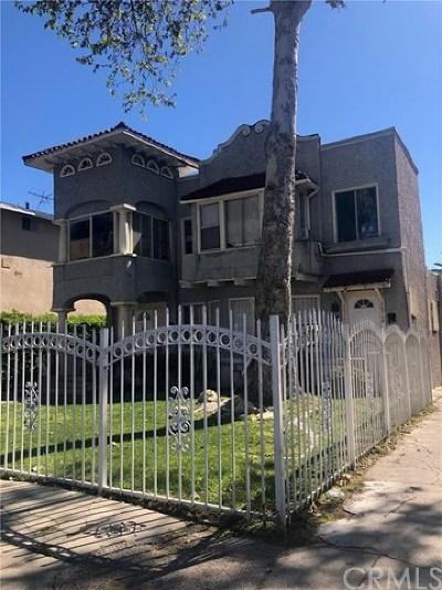 Los Angeles Multi Family Home For Sale: 2012 S La Salle Avenue