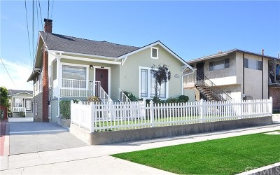 San Pedro Single Family Home Active Under Contract: 1261 W 22nd Street