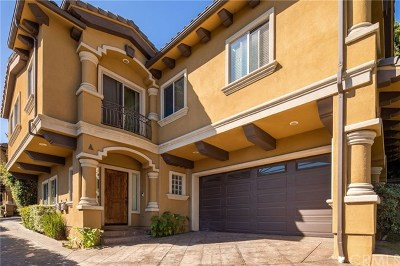 Torrance, Redondo Beach Condo/Townhouse For Sale: 1916 Nelson Avenue #A