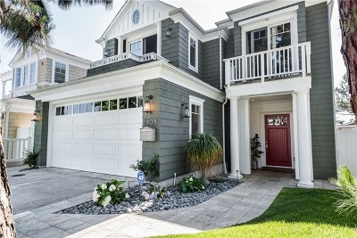 Manhattan Beach Single Family Home For Sale: 2805 Palm Avenue