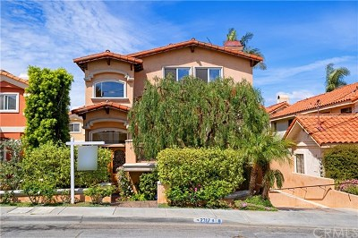 Redondo Beach Condo/Townhouse For Sale: 2317 Harriman Lane #A