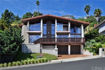 Rancho Palos Verdes Single Family Home For Sale: 29924 Knoll View Drive