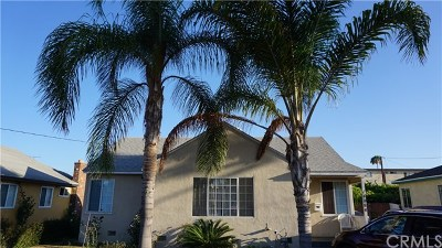 Hawthorne Single Family Home For Sale: 4084 W 141st Street