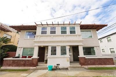 Long Beach Multi Family Home For Sale: 17 Bonito Avenue