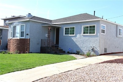 Inglewood Single Family Home For Sale: 3115 W 84th Street