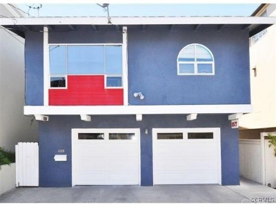Manhattan Beach Single Family Home For Sale: 1517 Crest Drive