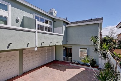 Redondo Beach Condo/Townhouse For Sale: 2206 Manhattan Beach Boulevard #B