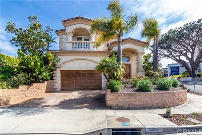 Manhattan Beach Single Family Home For Sale: 1300 1st Street