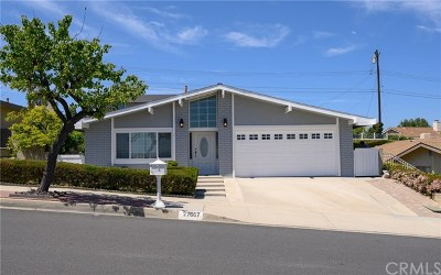 Rancho Palos Verdes Single Family Home For Sale: 27667 Flaming Arrow Drive