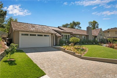 Palos Verdes Peninsula Single Family Home For Sale: 27563 Rainbow Ridge Road