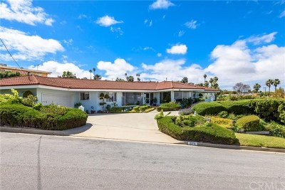Rancho Palos Verdes Single Family Home For Sale: 2275 Sparta Drive