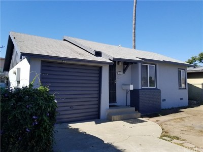 Gardena Single Family Home For Sale: 1619 W Gardena Boulevard