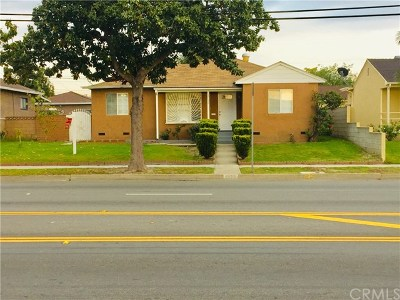 Pico Rivera Single Family Home For Sale: 5132 Paramount Boulevard