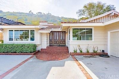 Palos Verdes Estates Single Family Home For Sale: 1308 Palos Verdes Drive W