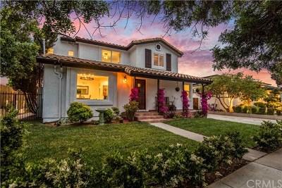 Manhattan Beach Single Family Home For Sale: 1151 Lynngrove Drive