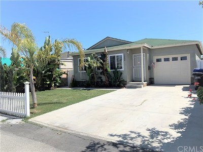 Torrance Single Family Home For Sale: 1200 W 226th Street