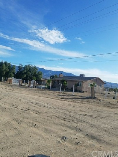 Lucerne Valley Single Family Home For Sale: 10656 Allen Way