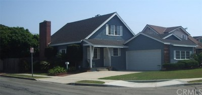Torrance CA Single Family Home For Sale: $879,000