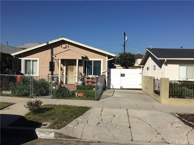 San Pedro Multi Family Home For Sale: 1040 W 24th Street