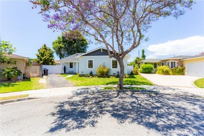 Hawthorne Single Family Home For Sale: 14117 Hindry Avenue