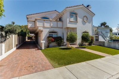 Redondo Beach Condo/Townhouse For Sale: 2615 Nelson Avenue #C