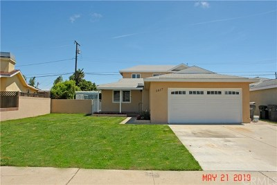 Redondo Beach Single Family Home For Sale: 2817 Fisk Lane