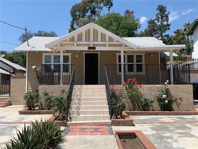Highland Single Family Home For Sale: 6517 Meridian Street