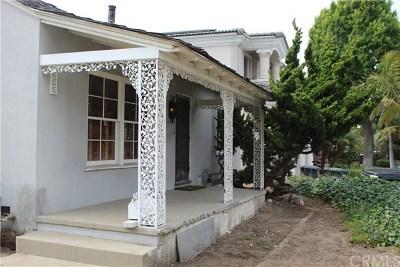 El Segundo Single Family Home For Sale: 825 Center Street