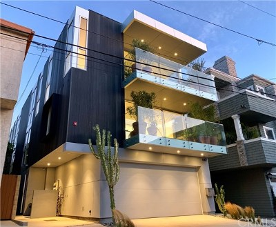 Manhattan Beach Condo/Townhouse For Sale: 442 23rd Pl. Street