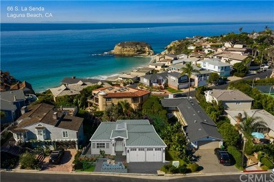Laguna Beach Single Family Home For Sale: 66 S La Senda Drive