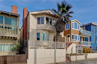 Manhattan Beach Single Family Home For Sale: 4117 The Strand (Aka Ocean Dr) Drive