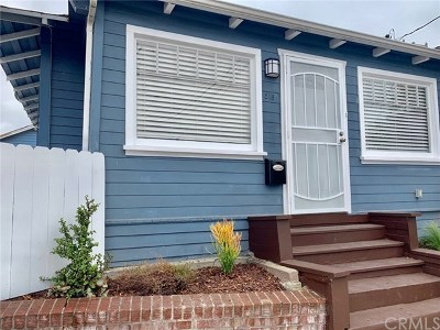 Los Angeles County Rental For Rent: 218 Pearl Street