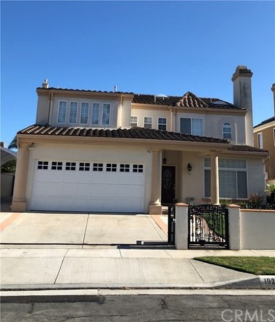 Torrance Single Family Home For Sale: 1926 W 237th Place