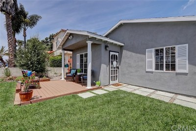 Los Angeles County Single Family Home For Sale: 2421 Ruhland Avenue