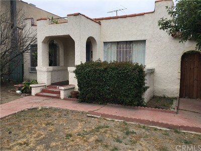 San Pedro Multi Family Home For Sale: 1522 S Gaffey Street