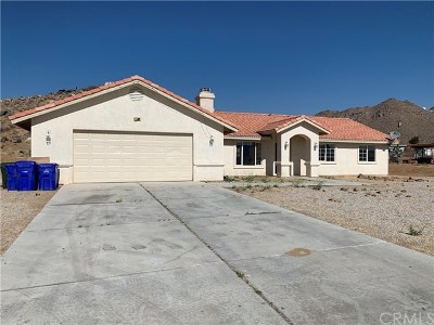 Apple Valley Single Family Home For Sale: 15918 Serrano Road